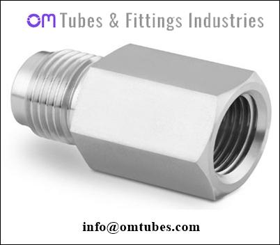 Female Connector - Tube Fitting Compression Female Connector