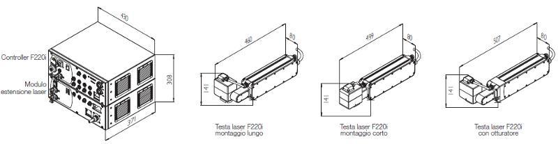 Marcatore Laser Domino F220i - null