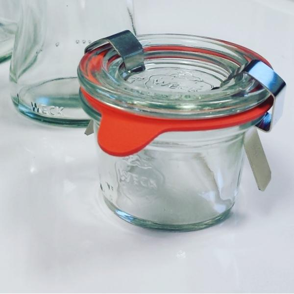 Jar  - WECK RIGHT 35 ml, diameter 40 mm