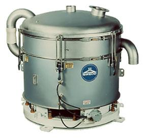 Pneumatic SWECO Inline Sifter - null