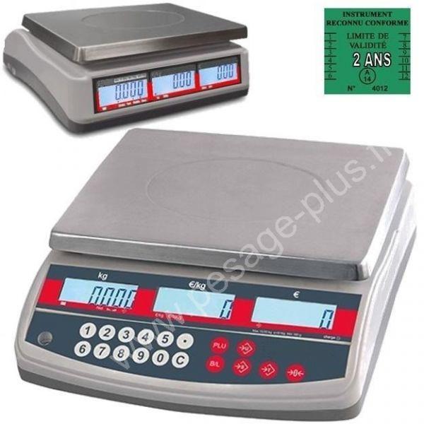 Balance poids prix MLP.MIL15 - Balances Commerciales