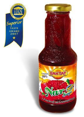 3 fruit juice w. pomegranate - null