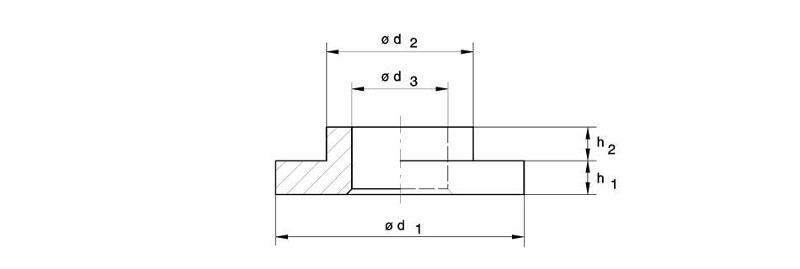 Damping materials - Spring collars for pressure springs