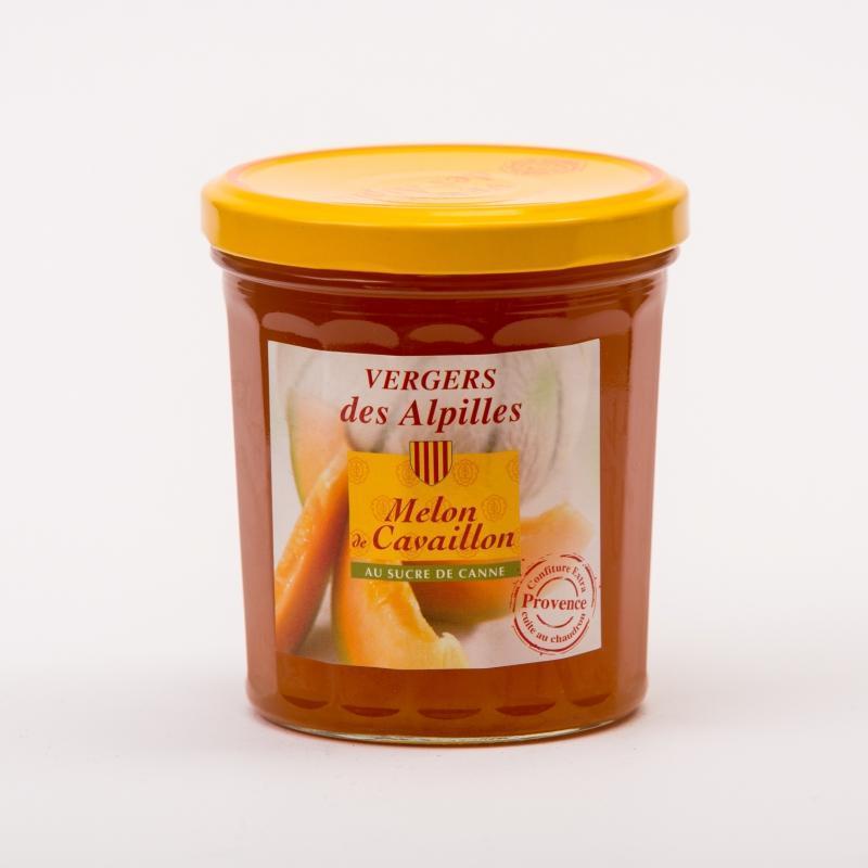 Vergers des Alpilles - Melon de Cavaillon - Confitures au sucre de canne