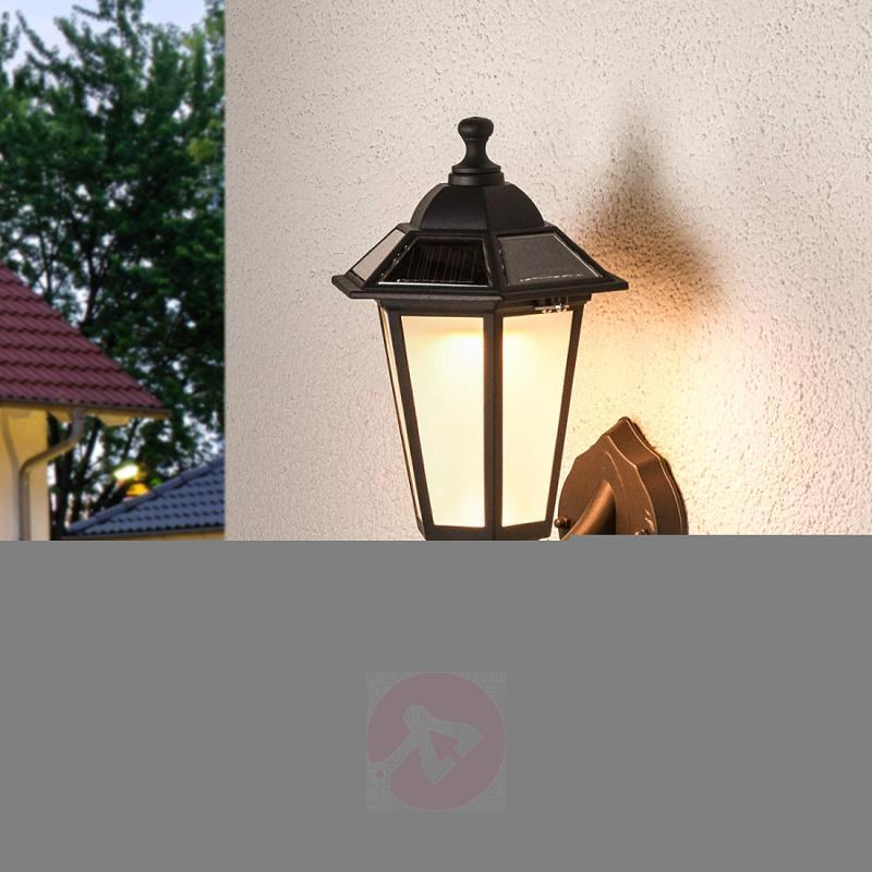 Solar Kristin LED outdoor wall light - outdoor-led-lights