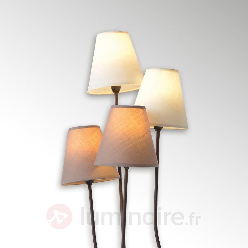 Twiddle - lampadaire a quatre lampes - Lampadaires en tissu