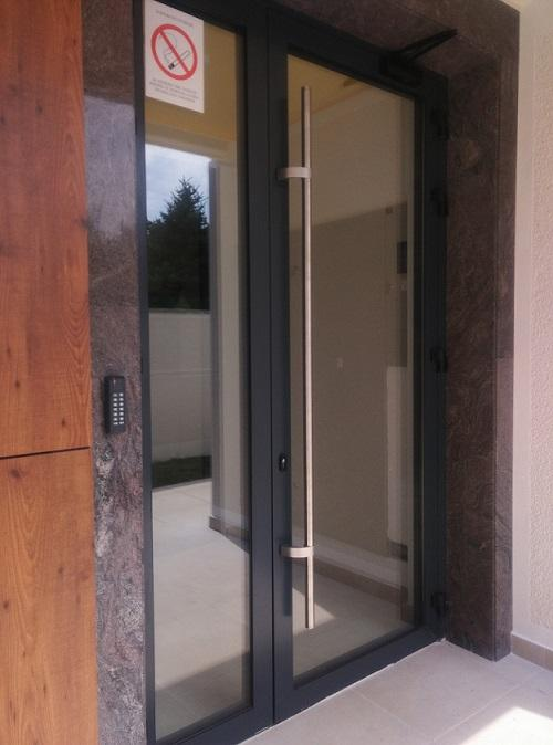 Aluminum door - Production and installation of Aluminum doors