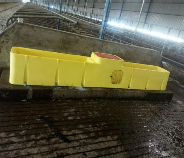 4M Biggest polyethylene heat preservation trough drinker - Electronic-Heated water trough for cattles,Cow,horse