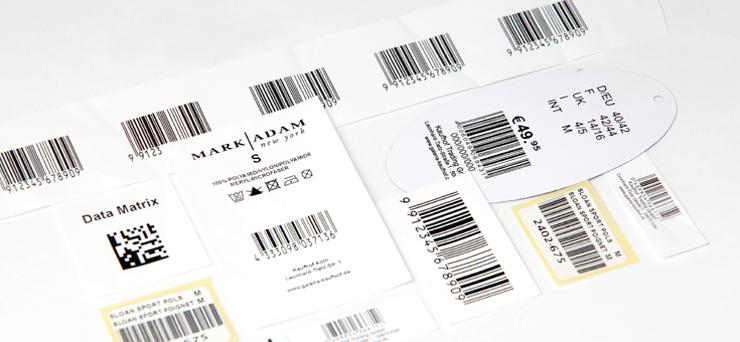 Barcode labels - null