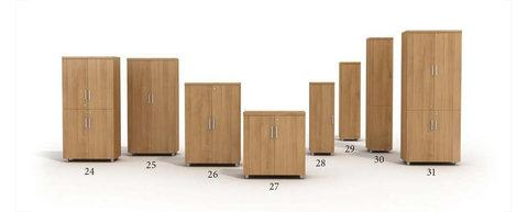 Modern and top quality glass and wooden door filing cabinets - File storage and cabinets