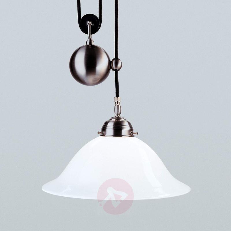 Saskia height-adjustable hanging light - design-hotel-lighting
