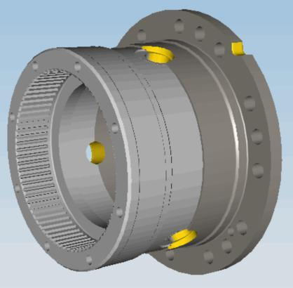 High quality custom precision motor housing