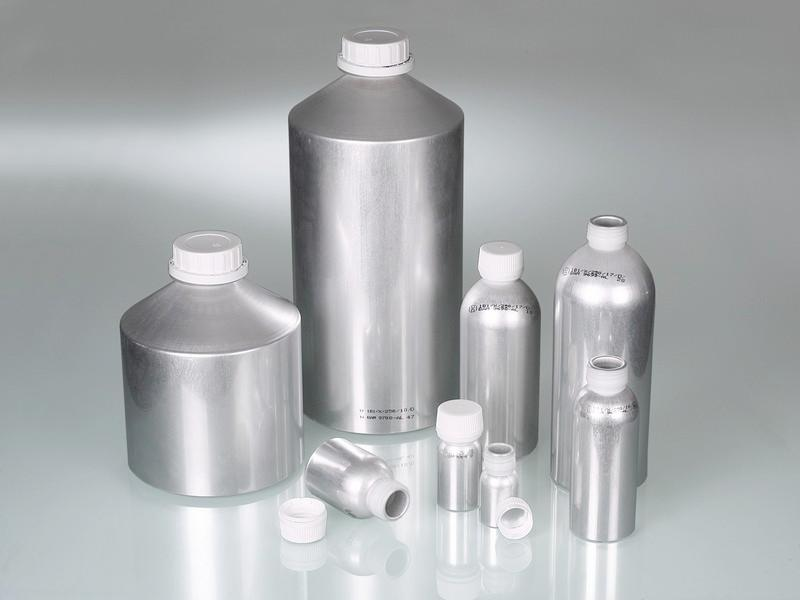 Aluminium bottle - Packaging, with UN approval