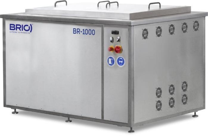 BR-1000  - Máquina de limpieza por ultrasonidos manual de 1000 L