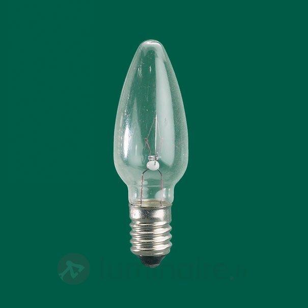Ampoules-flamme de rechange E10 3W 12V par 3 - Ampoules à l'unité