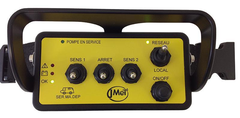 Radiocommande Hélice - La solution la plus compacte permettant la puissance de l'analogique