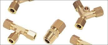 Brass Compression Tubes Fittings - Brass Compression Tubes Fittings
