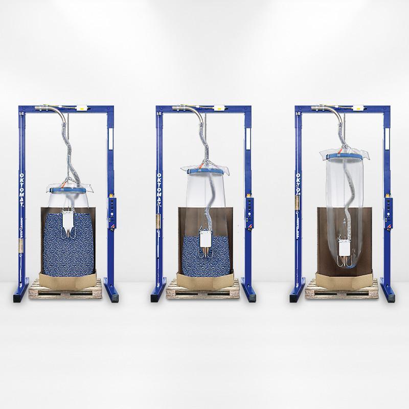 Entleerstation OKTOMAT® ECO Classic - Entleerstation für Oktabin und Big Bag mit automatischer Restlosentleerung