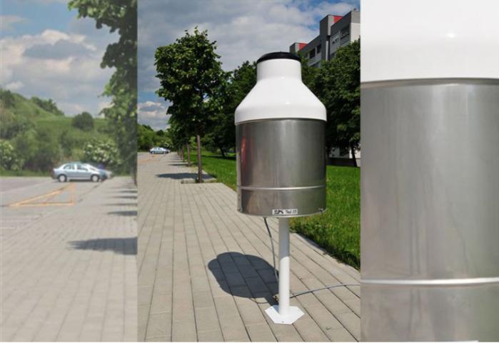 Pluviomètre TRW principe de pesage -