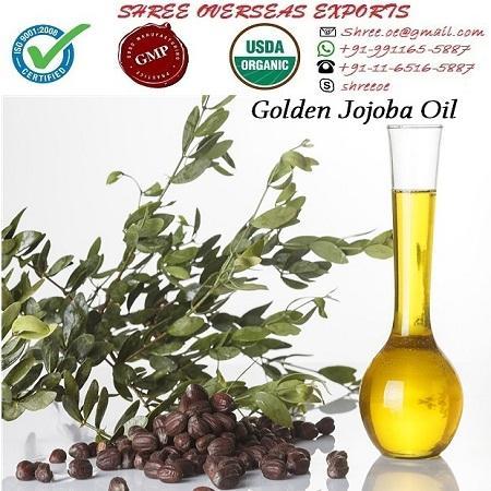 Organic Jojoba Oil Golden - USDA Organic