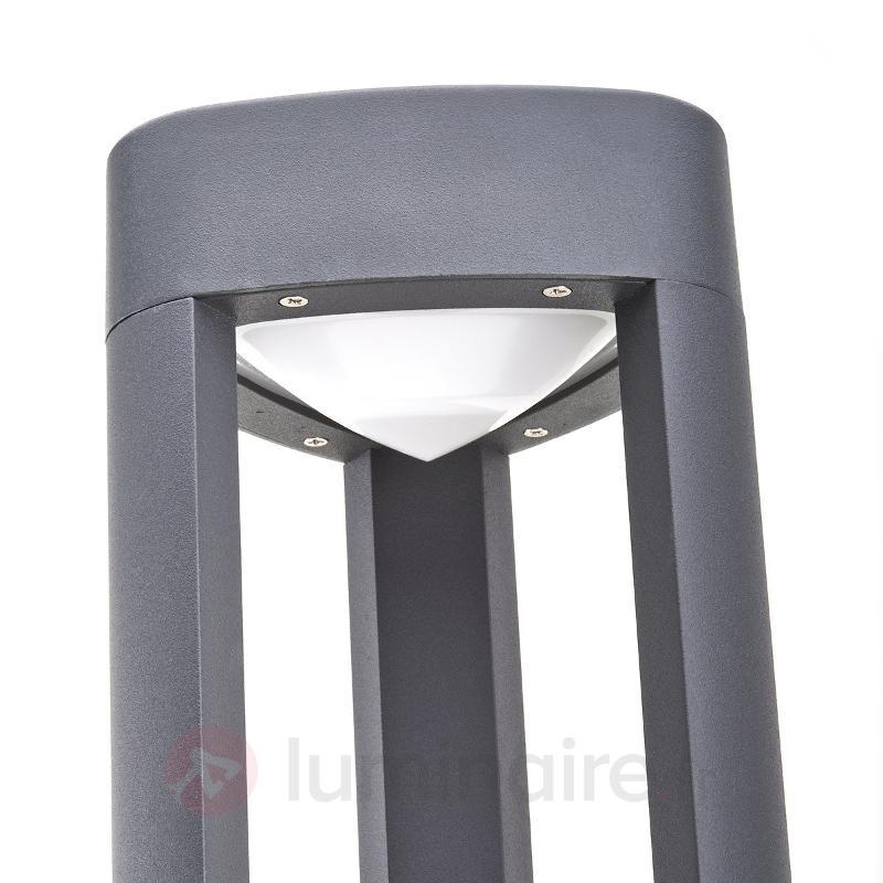 Borne lumineuse LED Nanna en aluminium - Bornes lumineuses LED