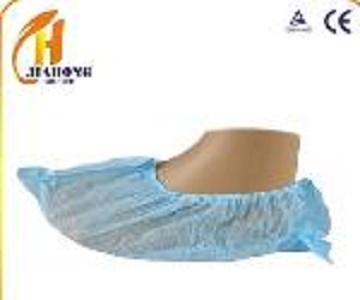 Desechable cubierta del zapato - Color: azul, blanco, verde Material: telas no tejidas de PP