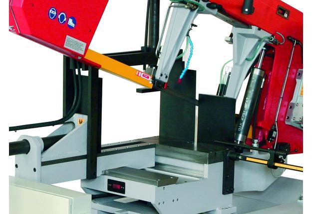 Scie à ruban semi-automatique - TRANSVERSE 440 DGH