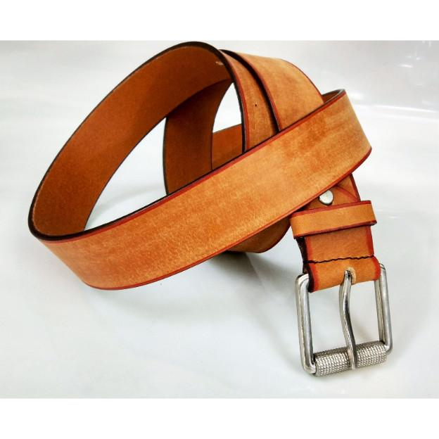 leather tan grain belt - leather tan grain belt for men