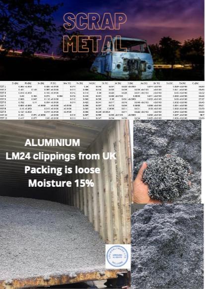 Aluminium - LM24 clippings
