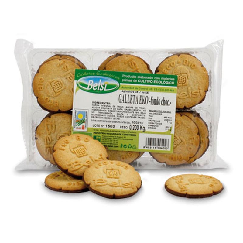 Eko Cookies With Chocolate Bottom - COOKIES