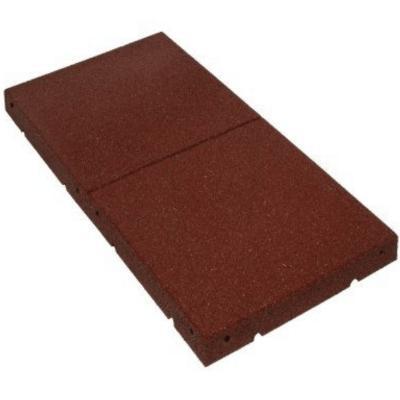 Brandveilige daktegels - Rubber daktegels van regupol die over brandklasse broof beschikken.