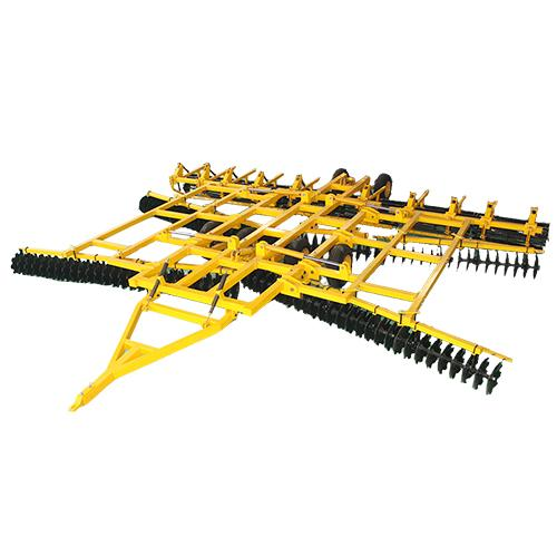 Land cultivating tillage machine with high quality