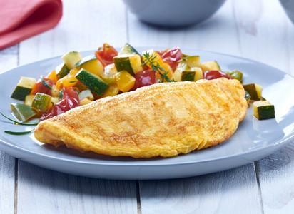 L'omelette demi-lune surgelée - Poids précis de chaque omelette