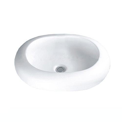 Colorful Ceramic countertop bowl sink - Round Colorful Ceramic countertop bowl sink