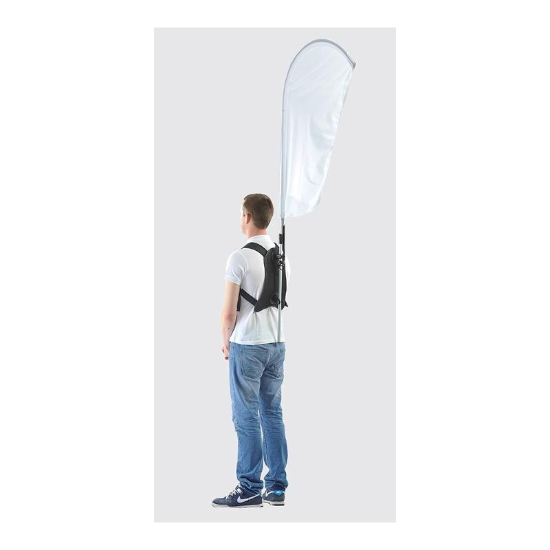 Drapeau sac à dos - Drapeaux publicitaires et oriflamme