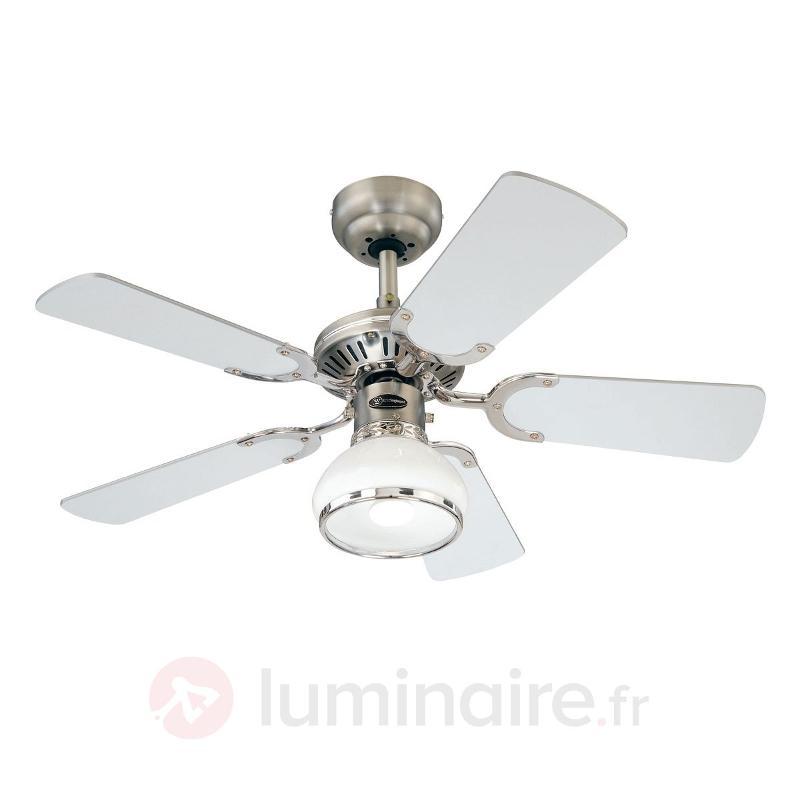 Ventilateur plafond lumineux Princess Radiance 90 - Ventilateurs de plafond modernes