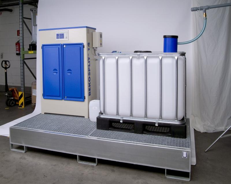 Emulsion splitting unit - BEKOSPLIT splitting plants clean emulsified condensates