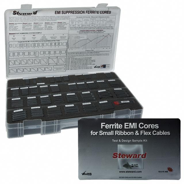KIT FERRITE EMI RIBBON & FLEX - Laird-Signal Integrity Products K-406 EMI R