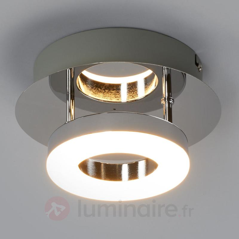 Petit plafonnier chromé Daron LED - Plafonniers LED