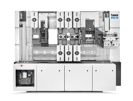 Processing center - BZ2-S8 - Powerful processing center BZ2-S8 for mass production of sub-assemblies
