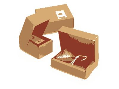 mise en carton