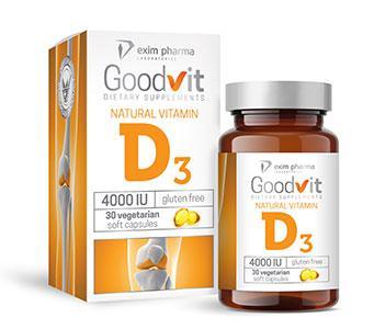 Goodvit Natural Vitamin D3 4000 - null