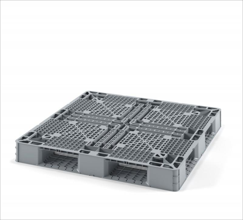 Light perforated plastic pallet 1150х1150 for big-bags... - Art.: 02.111