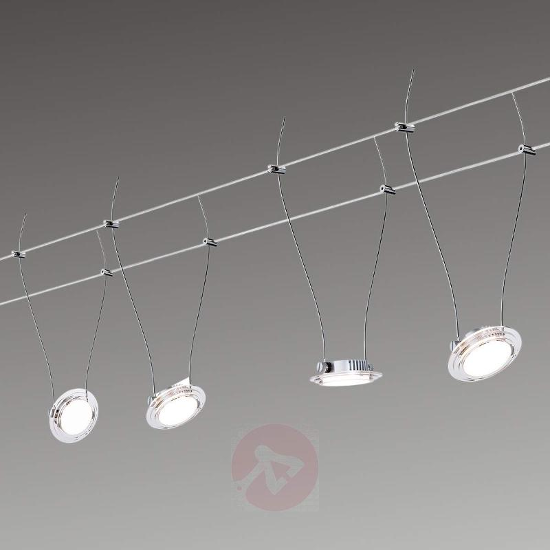 LED cable lighting system Set Twist Coin - Cable Lighting Kits
