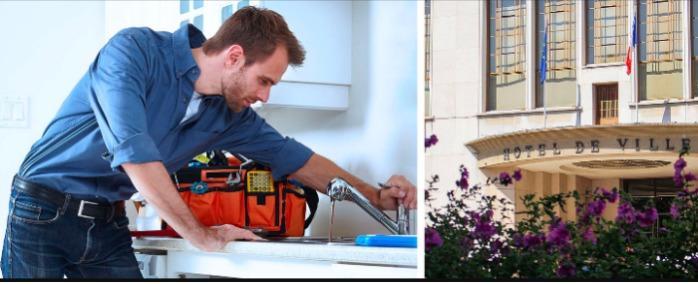 Dépannage Plombier Garches (92380) - Intervention en plomberie à Garches (92380) 24/24h et 7/7jours