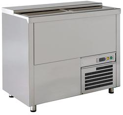 Cafeteria, Ice Cream and Bar Equipment - bottle cooler 420lt w/2 shelves