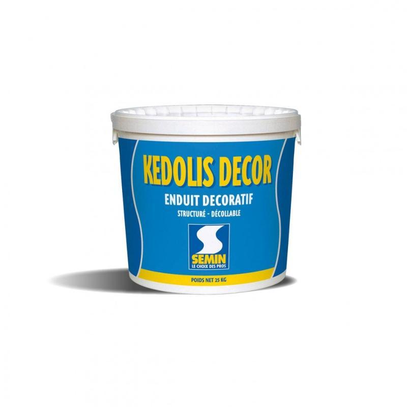 Enduit décoratif intérieur - KEDOLIS DECOR ENDUIT DÉCOLLABLE