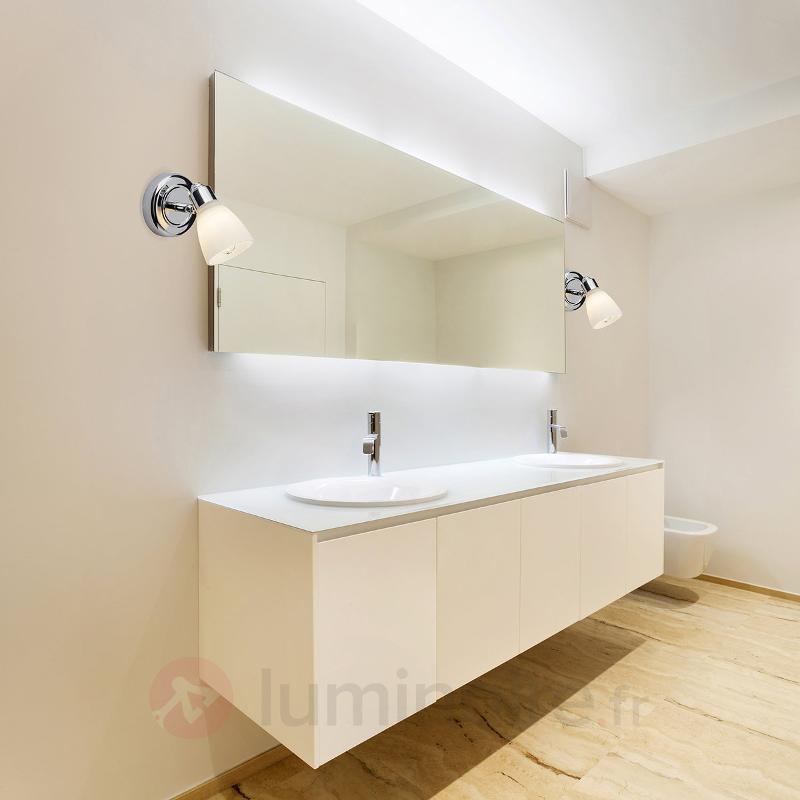 Applique chromée Kensington avec IP44 - Salle de bains et miroirs