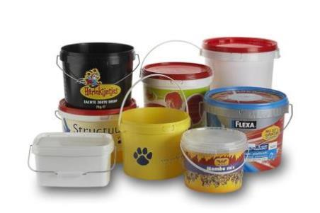 Buckets - Decapac offers a wide choice of buckets for food and non-food products