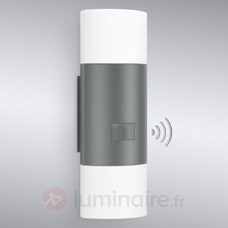 Applique ext. LED à capteur L910 anthracite - Appliques d'extérieur avec détecteur